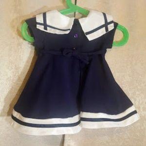 Sweet Heart Rose Dresses - Sweet Heart Rose Boutique Sailor Dress  sz 6-9 mos